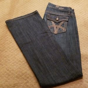 KUT From Kloth Bootcut Blue Jeans